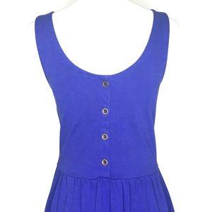 J. Crew Dresses - J. Crew Blue Scoop Neck Sleeveless Dress A150751